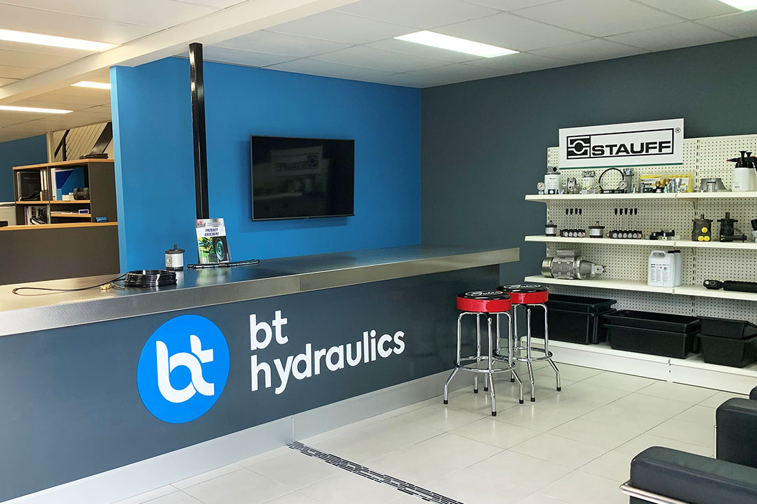 BT Hydraulics workshop